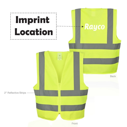 Safety Vest Imprint Image