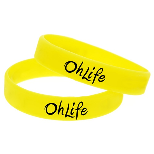 Awareness Silicone Wristband Image 3
