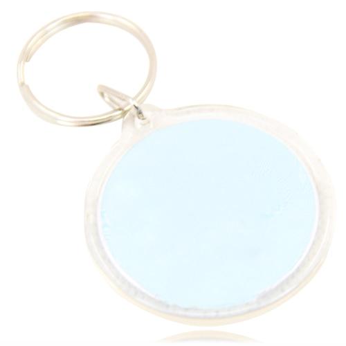 Circle Acrylic Key Tag Image 9