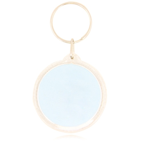Circle Acrylic Key Tag Image 2
