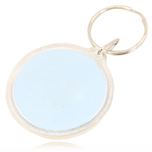 Circle Acrylic Key Tag Image 8