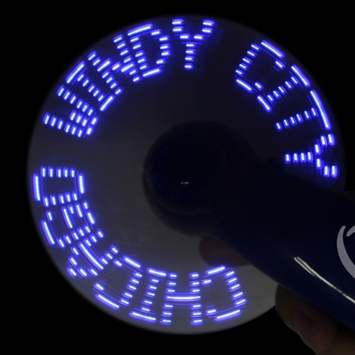 Led Hand Message Fan Image 6