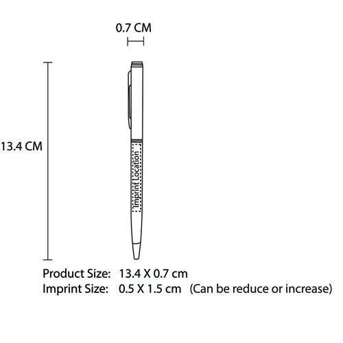 Slim Twist Action Pen Image 10