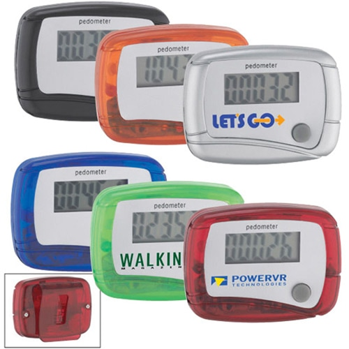 Digital Pedometer With Clip