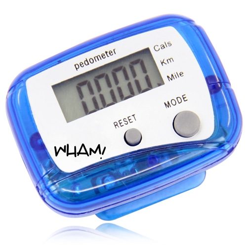 Digital Pedometer With Clip Image 1