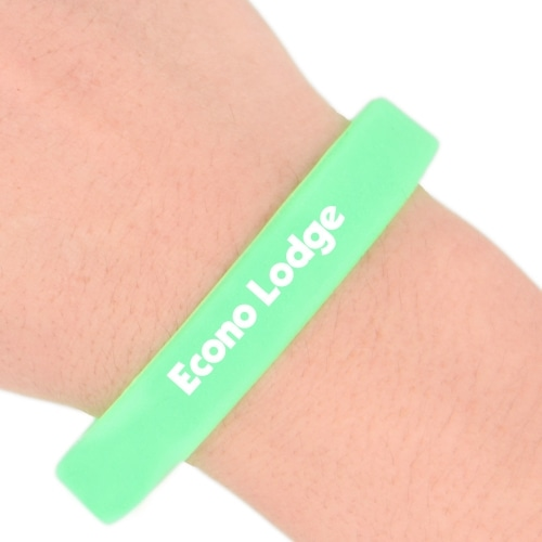 Glow In The Dark Silicone Wristband Image 4