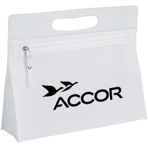 Clear Cosmetic Bag With Zipper