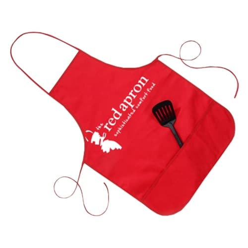 Double Bib Apron With Pocket