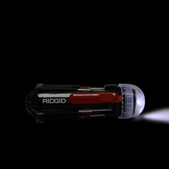 Multi 8 in 1 Screwdriver Set Torch Flashlight