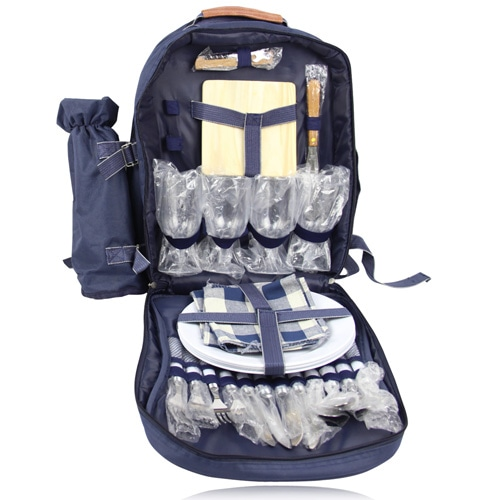 4 Person Picnic Backpack Image 3
