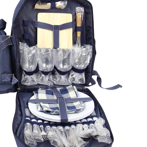 4 Person Picnic Backpack Image 7