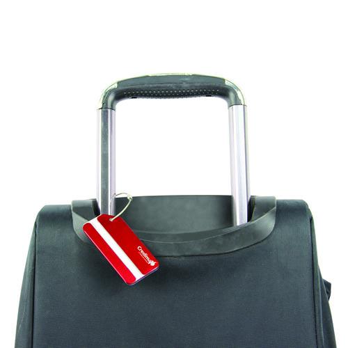 Classic Aluminum Luggage Tag