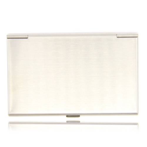 Stainless Steel Business Card Holder Image 1