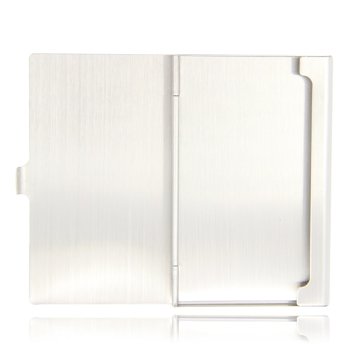 Stainless Steel Business Card Holder Image 2