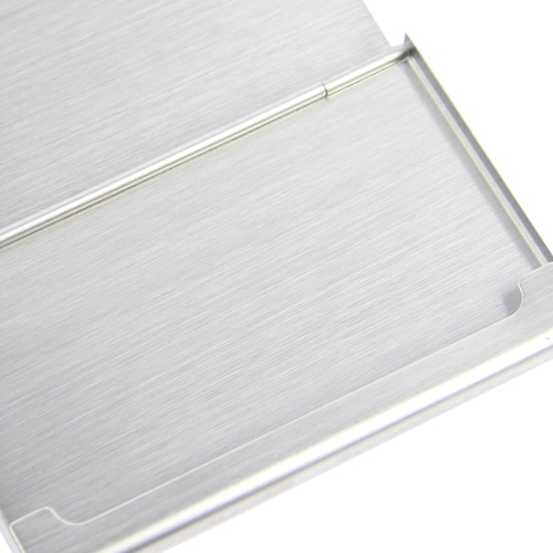 Stainless Steel Business Card Holder Image 6