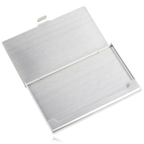 Stainless Steel Business Card Holder Image 8