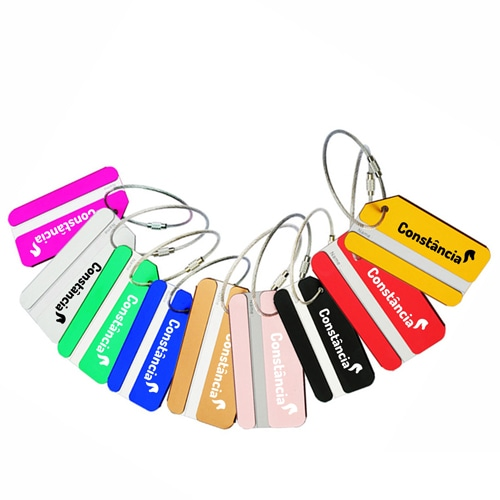 Ace Stainless Steel Luggage Tag Image 4