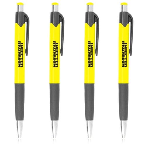 Arrow Down Ballpoint Grip Pen