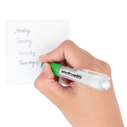 Nimble Transparent Easy Grip Pen Image 3