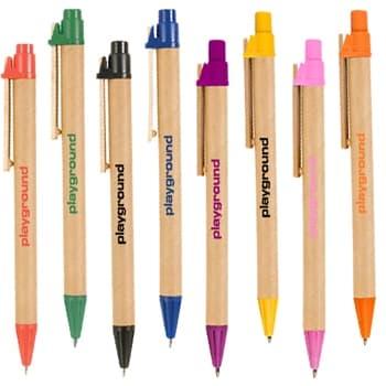 Custom Recycled Cardboard Pen