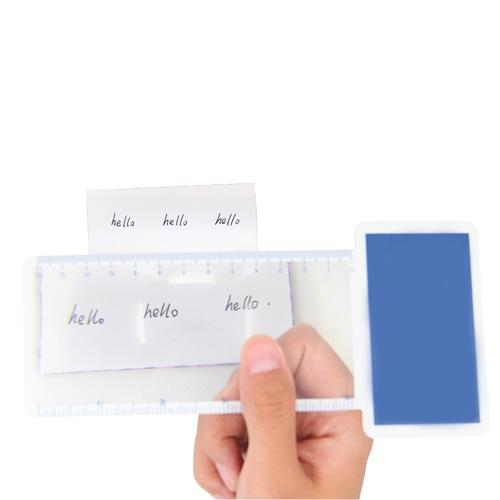 Deluxe Bookmark Magnifier Ruler