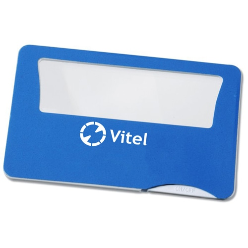 Credit Card Magnifier With Light Image 1