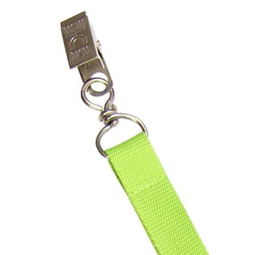 Polyster Lanyard With Aligator Badge Clip