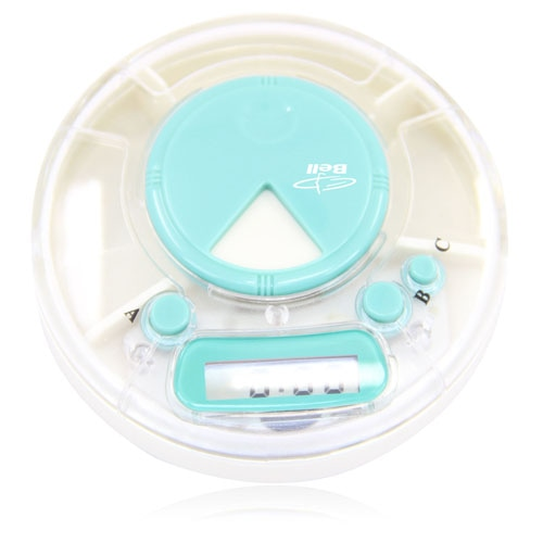 Digital Timer Pill Box Case