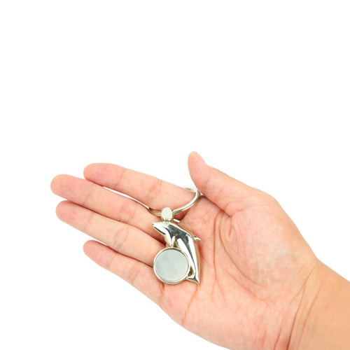 Zinc Alloy Fish Keychain