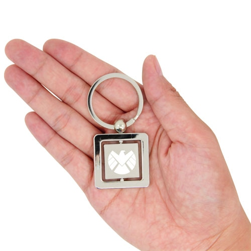 Rotatable Square Keychain Image 3