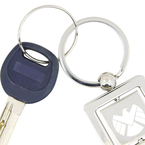 Rotatable Square Keychain Image 4
