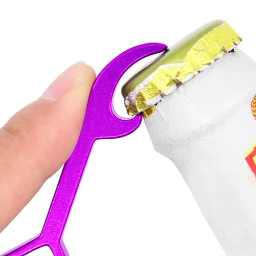 Aluminium Heart Shape Bottle Opener Image 5