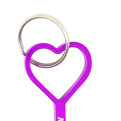 Aluminium Heart Shape Bottle Opener Image 6