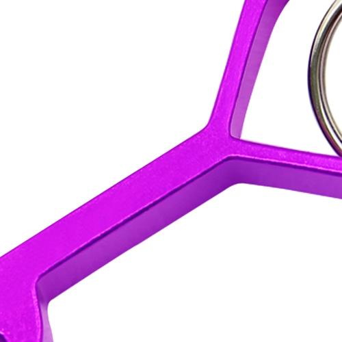 Aluminium Heart Shape Bottle Opener Image 7