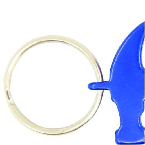 Aluminium Hammer Bottle Opener Keyring Image 7
