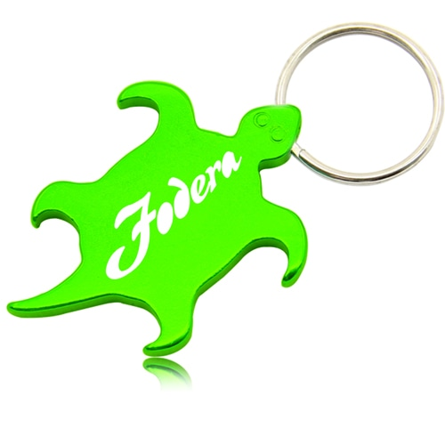 Tortoise Shape Opener With Keychain