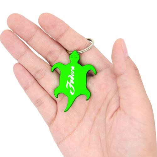 Tortoise Shape Opener With Keychain