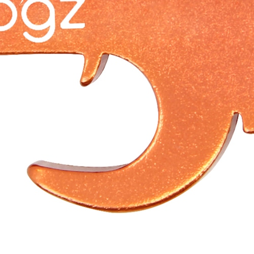 Pistol Bottle Opener Keychain Image 6
