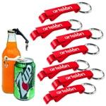 Aluminium Bottle And Can Opener Keyring