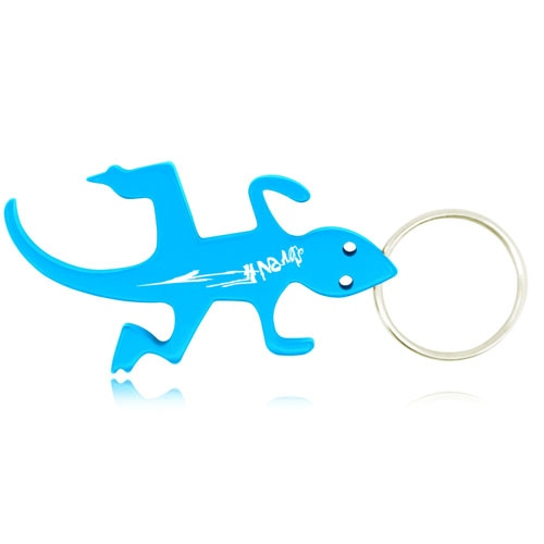 Lizard Shape Bottle Opener Keychain