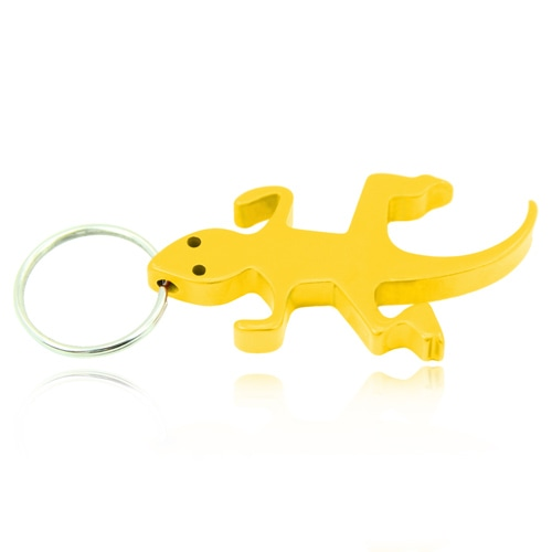 Lizard Shape Bottle Opener Keychain Image 2