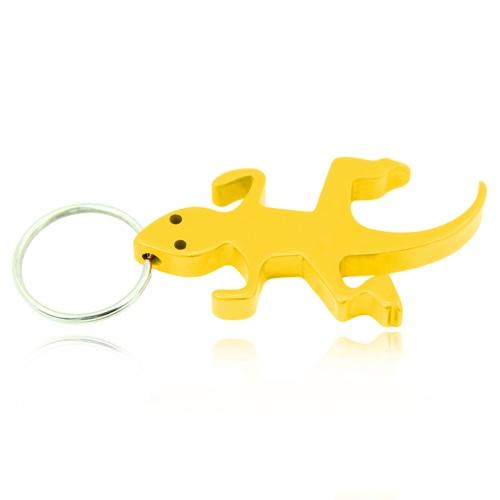 Lizard Shape Bottle Opener Keychain