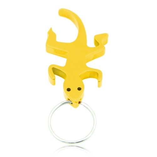 Lizard Shape Bottle Opener Keychain Image 5