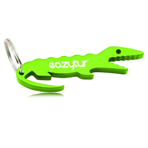 Crocodile Shape Bottle Opener Keychain