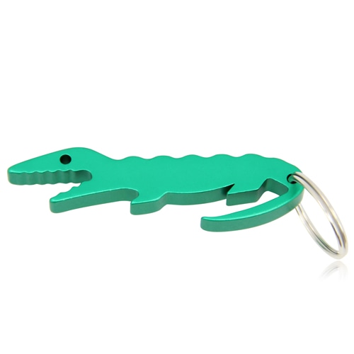 Crocodile Shape Bottle Opener Keychain Image 1