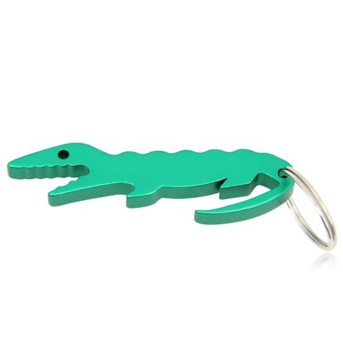 Crocodile Shape Bottle Opener Keychain