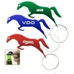 Jumping Horse Bottle Opener Keychain