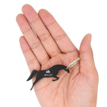 Jumping Horse Bottle Opener Keychain