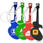 Guitar Bottle Opener With Keyring