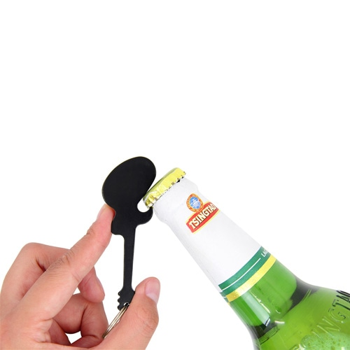 Guitar Bottle Opener With Keyring Image 3